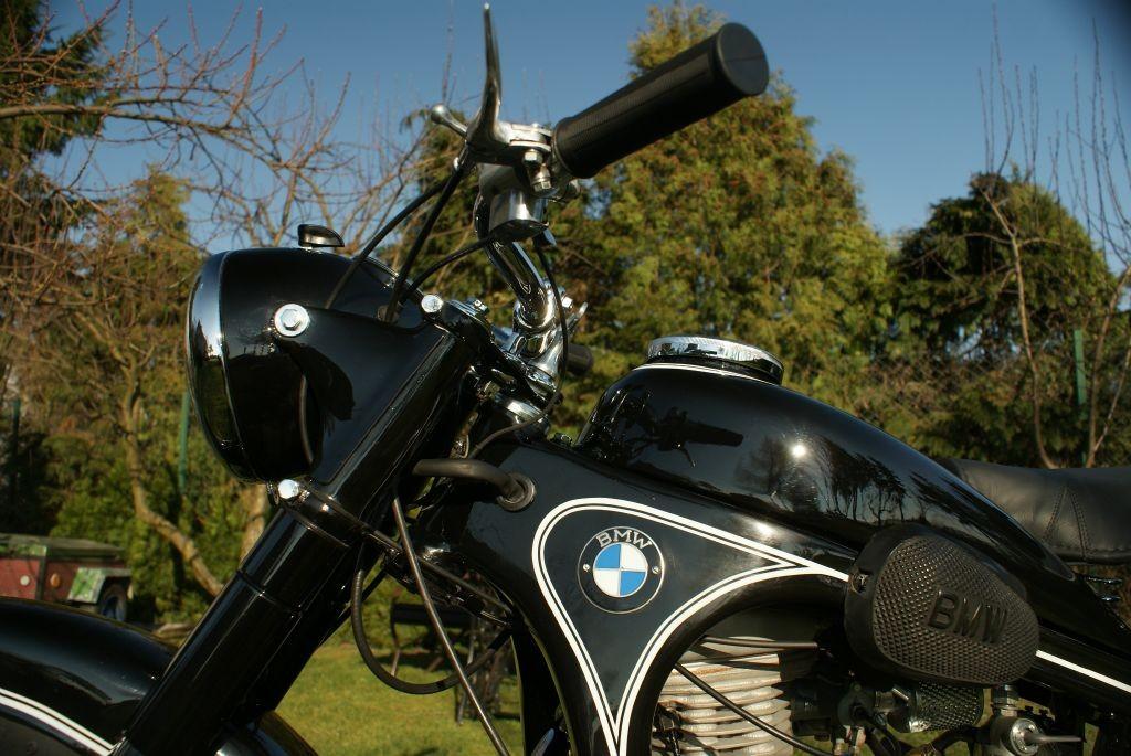 BMW R 35 odzyskało dawny blask